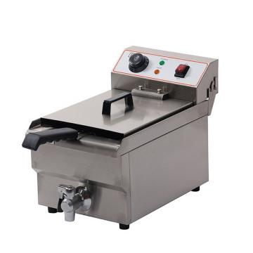 Gas Fired Continuous Belt Fryer for Snacks