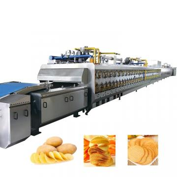 Potato Chips Production Line, Potato Chips Making Price, Frozen French Fries Food Processing Machine